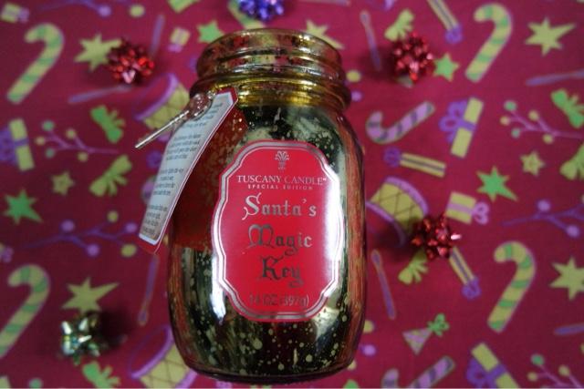 Tuscany Candle - Santa's Magic Key