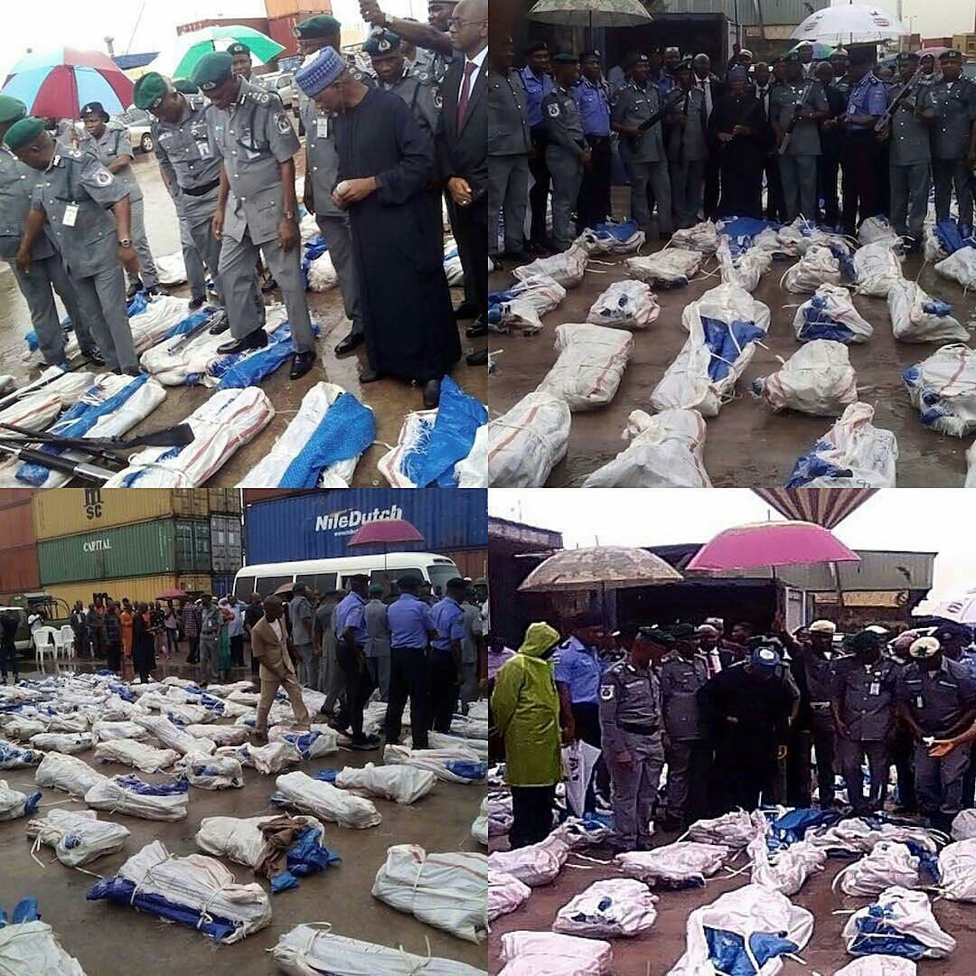 goldmynetv 1505135244076 - Customs Seizes Another Set Of 1,100 Pump Action Rifles In Lagos (Photos)