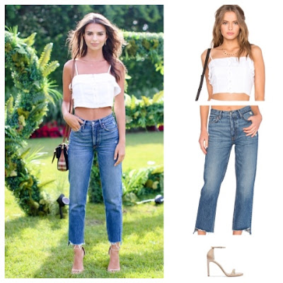 Emily Ratajkowski at Revolve Clothing's Fourth of July Bash in the Hamptons