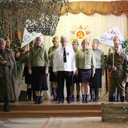 Театрализованное представление «Письма с фронта – колокола памяти» (Новосельский СДК)