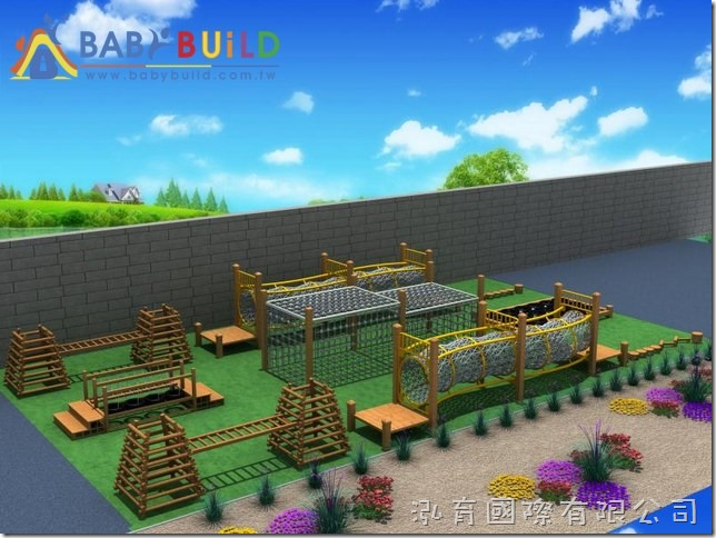 BabyBuild 體適能木製遊具