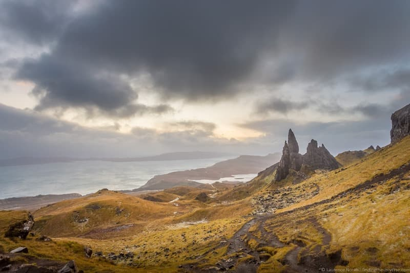 Photography Locations Skye - Old Man of Storr