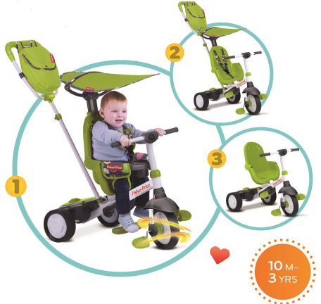 fisher price trike charisma review