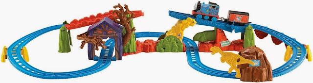 Bộ đồ chơi Motorized Railway Thomas' Spooky Tracks Set Fisher Price BMF09 thú vị hấp dẫn