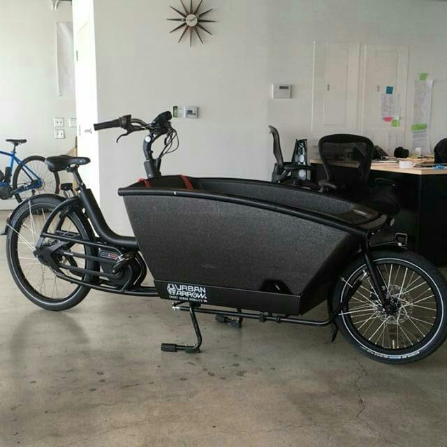 Cargobikelane Used Cargo Bike For Sale Urban Arrow Cetmacargo