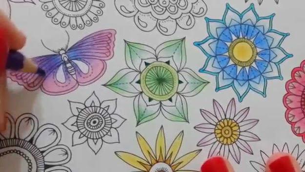 Secret Garden Coloring Book Page
