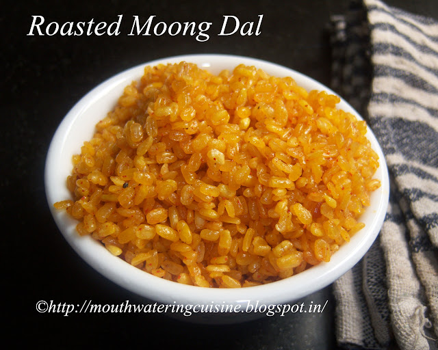 Roasted Moong Dal