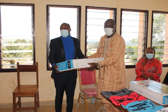 UBa Faculty of Arts Exco Blesses Departments with Didactic Materials