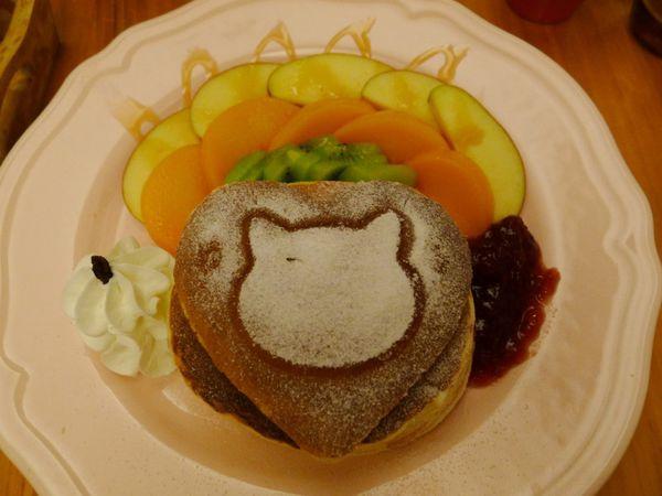 貓小路cafe二訪 鬆軟的厚鬆餅(基隆) @frogmerry 青蛙梅莉