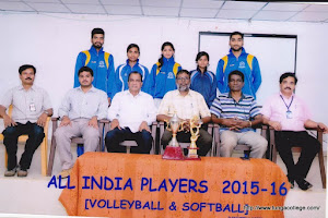 All India Players 2015-16 [Volleyball & Softball ]