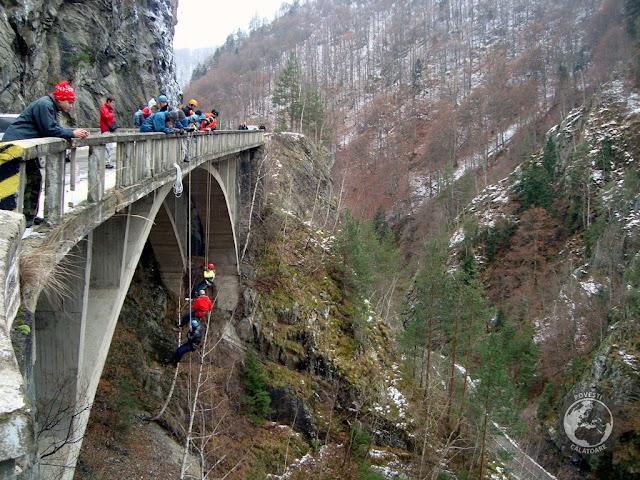 Rapel de pe viaduct cu EcoXtrem