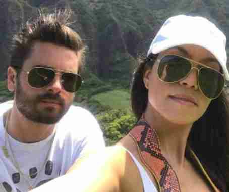 Kourtney Kardashian and Scott Disck spotted together