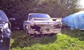 Abandoned BMW E9 3.0 CSL