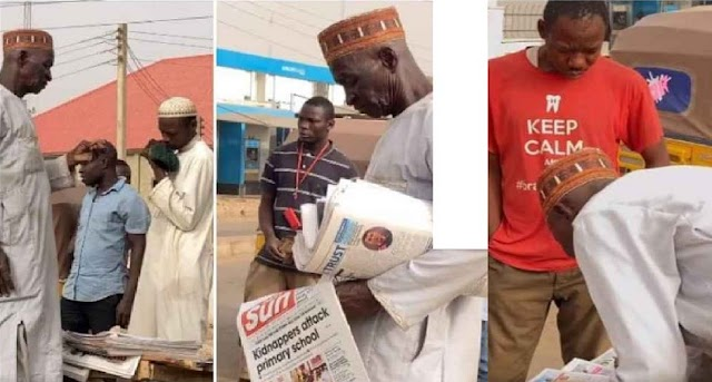 Internet Has Made Me Poor – Kano Man Who Has Been Selling Newspapers For 51 Years Decries