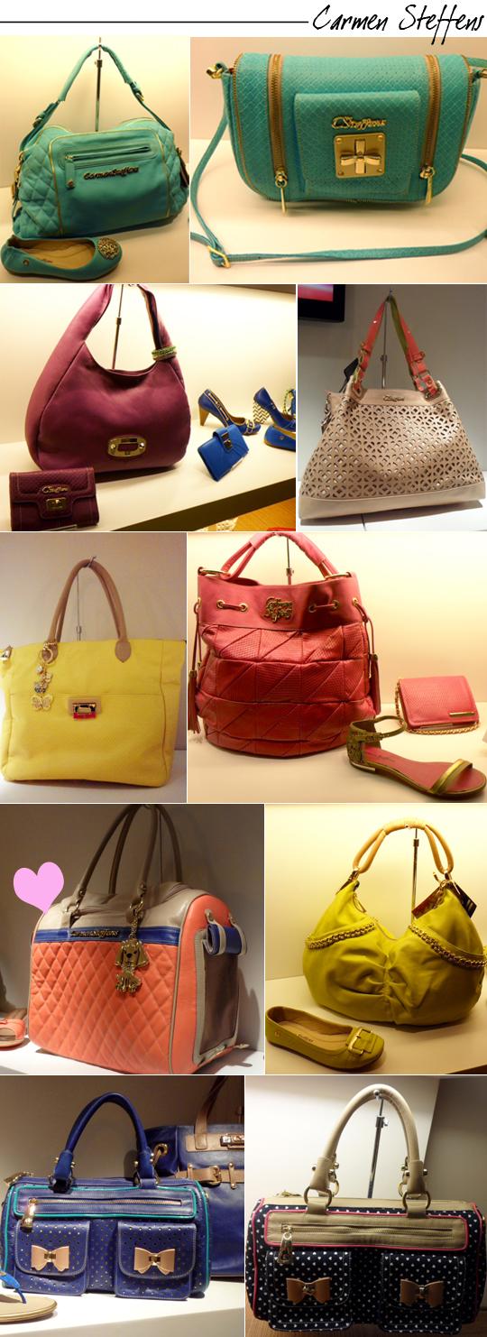 06885da84 As bolsas da coleção de Verão estão belíssimas, com cores maravilhosas! Tem  para todos os gostos: laranja, amarelo, azul, pink, roxo, vermelho e verde.