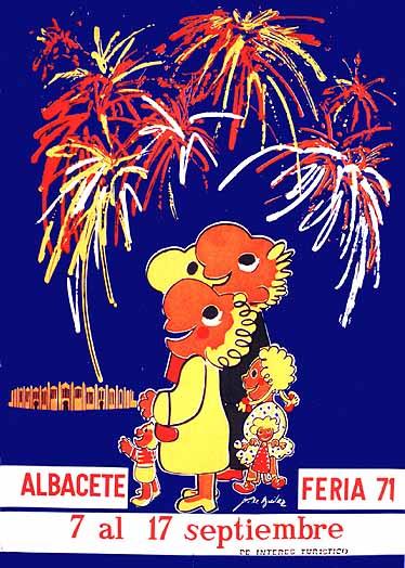 Cartel Feria Albacete 1971