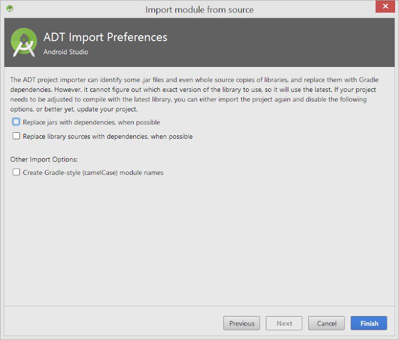 OpenCV4Android configurar módulo
