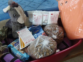 Thank You Michaela and SB for the Many Lovely Things!