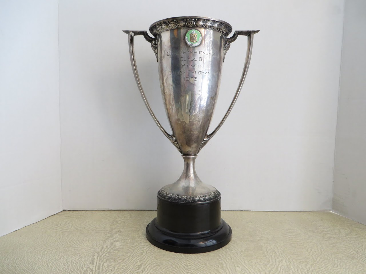 Sterling Silver Club Championship 1963 Trophy