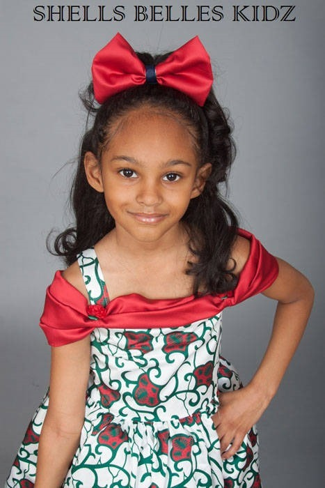 Ankara dresses for children (5)
