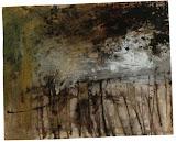 paysage secret / papier t.mixte / 40x60 / 1995