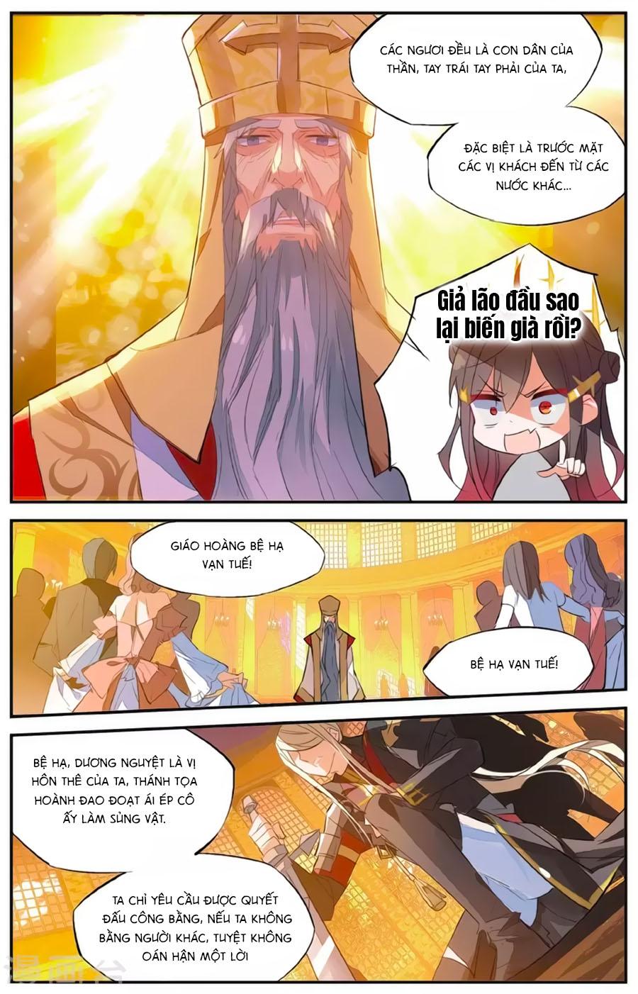 Nữ Nhân Dũng Cảm chap 62 - Trang 7
