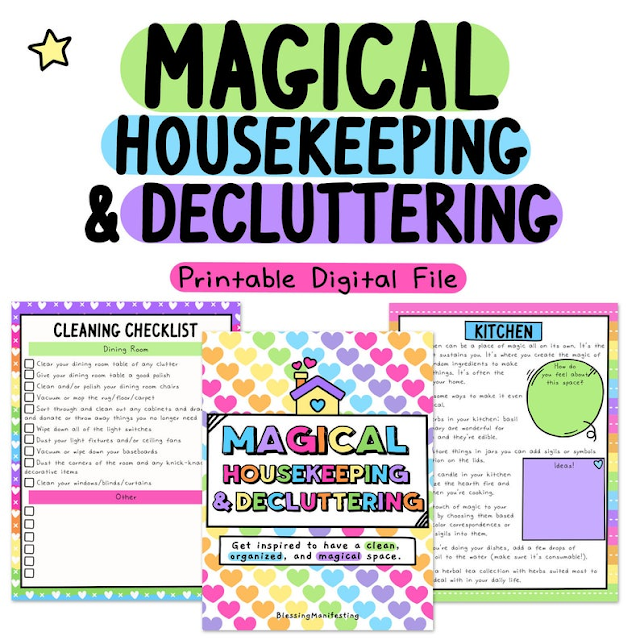 Magical Housekeeping and Decluttering