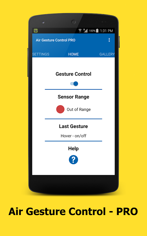 Air Gesture Control - PRO APK Cracked Free Download | Cracked