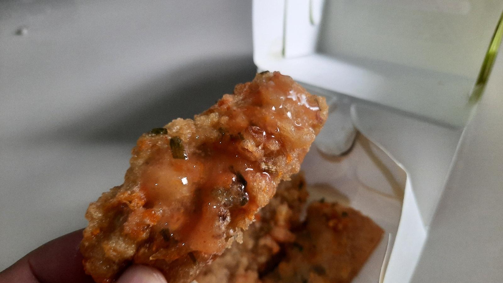 Varian cakwe udang dan ayam