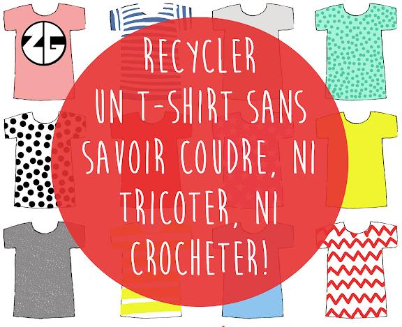 Manuel recyclage de t-shirt TOME 1