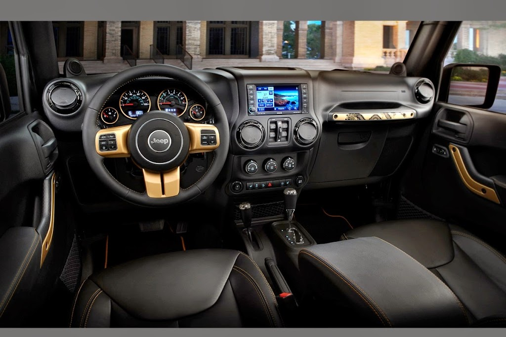 Jeep Wrangler Dragon Edition Interior 1