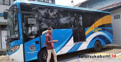 Ada Kendala, Bus Kota Trayek Jalur Lingkar Selatan Sukabumi Belum Bisa Beroperasi