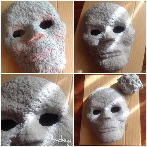 Máscara De Catrina Con Pasta De Papel Amakuyi Detalles