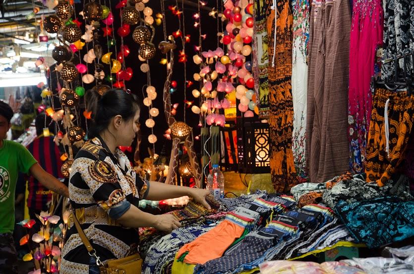 market, silom, bangkok