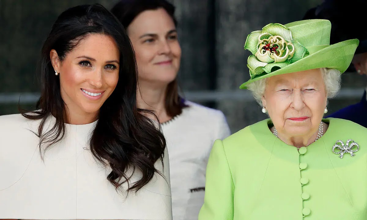 The Queen makes first appearance Since Birth of Prince Harry and Meghan's daughter Lilibet