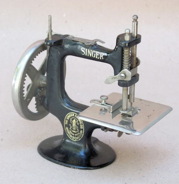 Singer 40 Toy Sewing Machine Restoration Decals Keeler Sales Delectable Singer 20 Sewing Machine