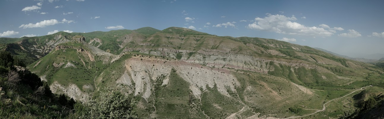 Anstieg zum Selim Pass