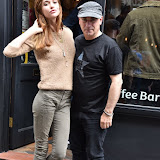 OIC - ENTSIMAGES.COM - Olivia Fox - Made In Chelsea LA and  Tony Moore - Iron Maiden Singer  at the  Soho Radio show London  12th September 2015 Photo Mobis Photos/OIC 0203 174 1069