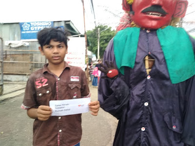 Penyaluran Zakat Fitrah Donatur Rumah Zakat