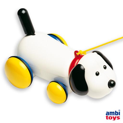 Contenido de Ambi® Toys Max, Perro Arrastre