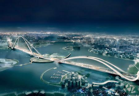 Cầu Vồng Cung ở Dubai