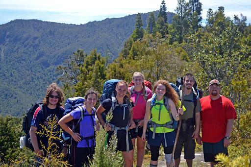 Hiking in the Coromandel Peninsula