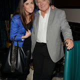 WWW.ENTSIMAGES.COM -  Louise Michelle and Graham Fowler at    Gary Bushell - Face Down The book Launch Party at Golden Bee Singer Street London October 16th 2013                               Photo Mobis Photos/OIC 0203 174 1069