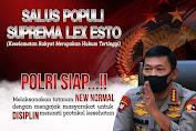 Keselamatan Rakyat Hukum Tertinggi di Masa New Normal