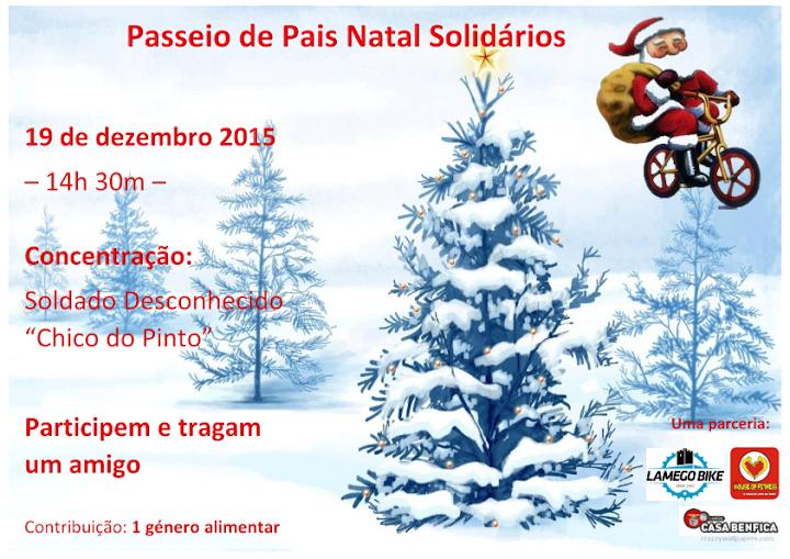 Passeio de Pais Natal Solidários - Lamego - 2015