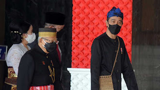 Jangan Melohok Nyaa !!, Ini Harga Busana Baduy Jokowi Saat Pidato di Sidang Tahunan MPR