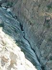 ça bouchonne dans le canyon