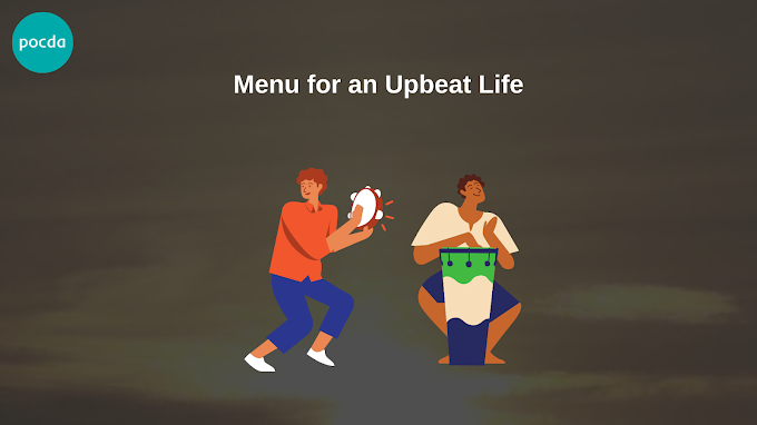 Menu for an Upbeat Life