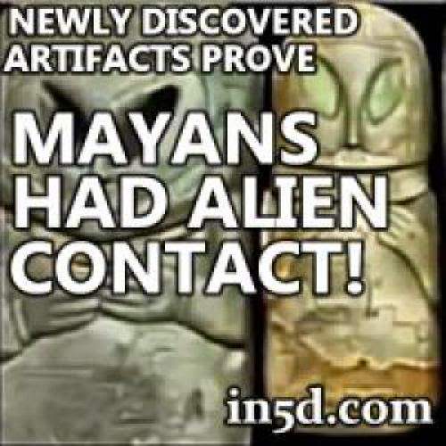 Newly Discovered Artifacts Prove Mayans Had Alien Contact