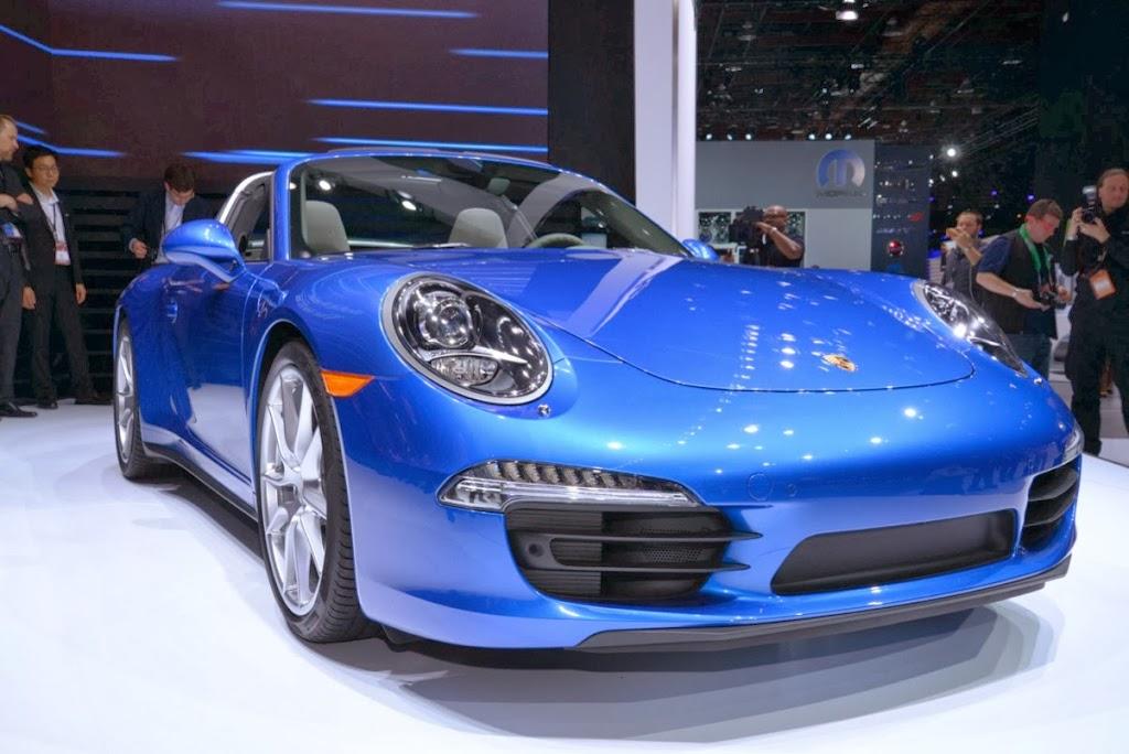 2014 Porsche 911 Targa 4 NAIAS 1